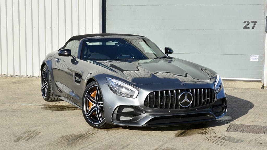 Xpel Ultimate Paint Protection & Gtechniq Coatings For Mercedes AMG GTC